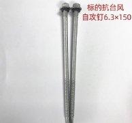 进口标的自攻螺钉6.3x150mm